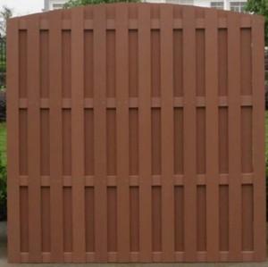 wpc wood plastic composite fence