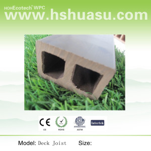 plastic wood composite deck keel