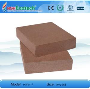 Hot selling! wood plastic composite floor