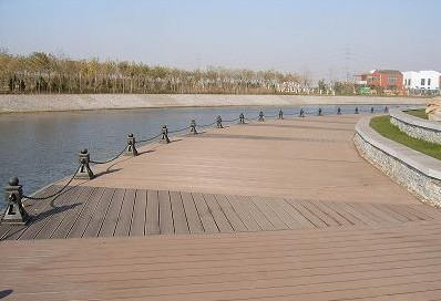 Environment friendly wpc post wpc decking