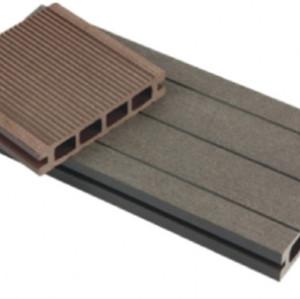 Easily installation composite decking wpc decking flooring