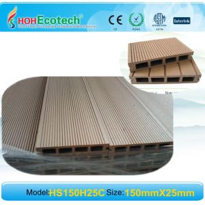 Smooth / Embossing/Sanding composite decking wpc decking flooring