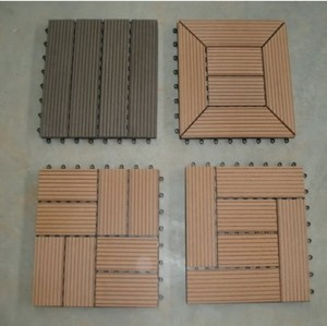 waterproof decking tiles 300x300mm