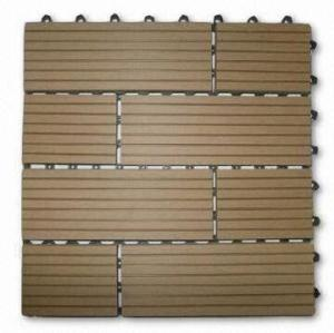 WPC decking tiles 300x300mm DIY models