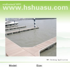 WPC deck for Wharf