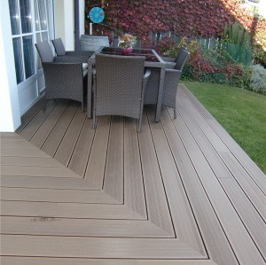 WPC deck for Private Garden