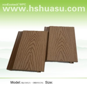 Good Quality! WPC wall board with wood grain
