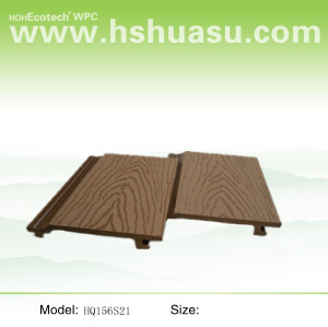 (CE Proof) wood plastic composite wall panel