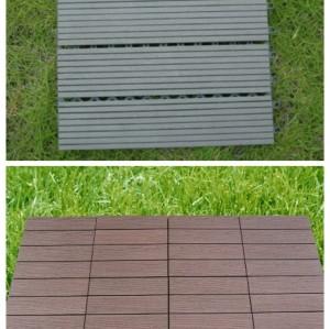 plastic wood decking flooring tile 30S30-5