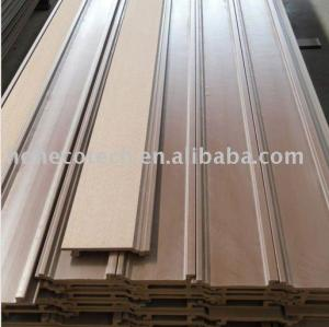 Natural wood looking and feel wood plastic composite wall panel