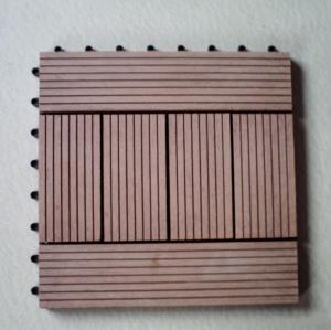 Non-Slip, Wear-Resistant 300x300mm wpc decking tiles