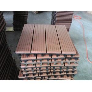 Best seller household /outdoor Non-Slip, Wear-Resistant wpc decking tiles
