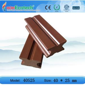 plastic wood decking flooring joist 40S30C