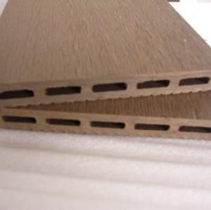 wood plastic composite decking board