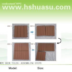 WPC tiles / installation