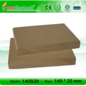 MODERN NEW TYPE OUTDOOR WPC DECKING BOARD
