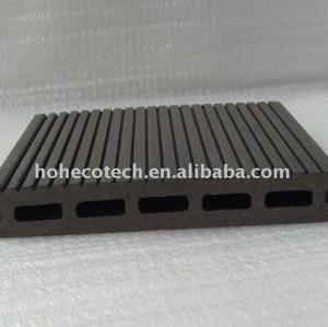 17mm thickness composite decking wpc decking board