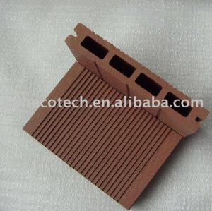 WPC انتاجية الخشب البلاستيك المركب التزيين التزيين المجلس