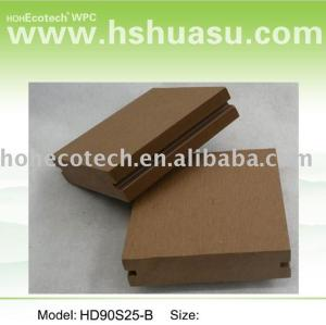 grooved wood flooring wpc wood plastic composite decking wpc decking board