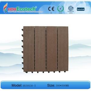 Hot! Wpc tile/ Interlocking System