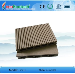 سطح الخشب المركب من البلاستيك (المبيعات الساخنة!)