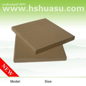 10mm thickness board natural wood wpc decking composite decking