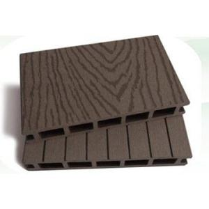 160mm width wood plastic  composite decking