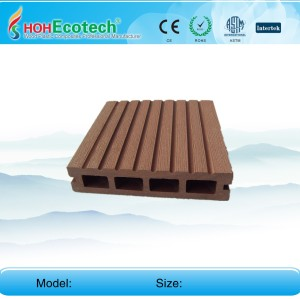 Easy installation decking wpc