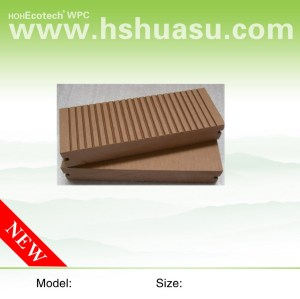 solid 150x25mm wpc wood plastic composite decking board