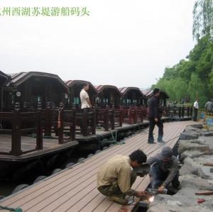 Cost efficiency terrace wpc
