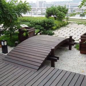 Splinter free terrace deck