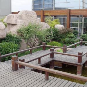 Splinter free terrace wpc
