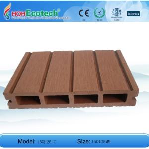الخشب الطابق البلاستيكية المركبة