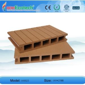 الخشب البلاستيك التزيين
