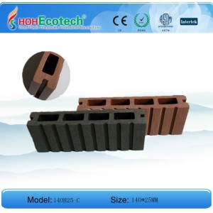 WPC Hollow Decking (ASTM/SGS/ISO9001)