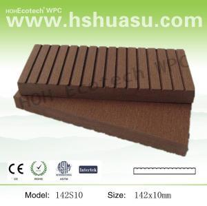 hot-wood plastic composite fencing