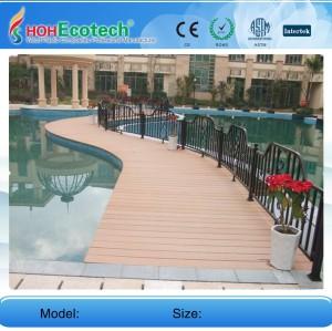 Hot! Wpc swimming pool deck