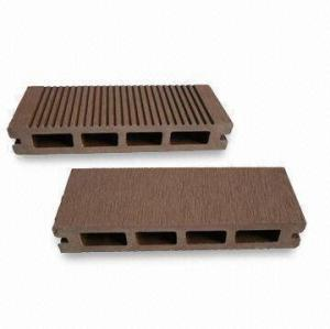 25mm thickness hollow composited decking wpc flooring/decking