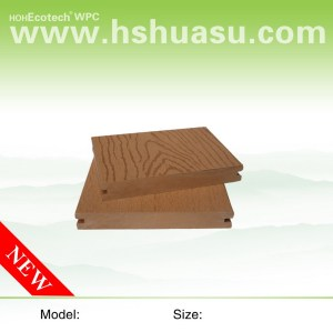 embossing surface WOOD plastic composite decking wpc flooring/decking