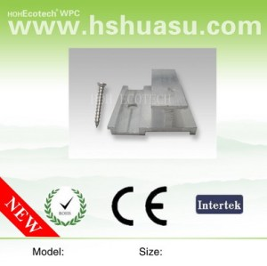 wpc accessory-metal fastener for wpc decking