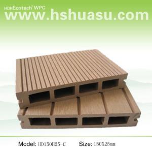wood composition weatherproof waterproof wpc decking