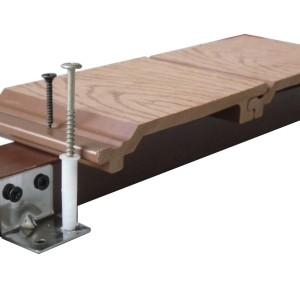 WPC انتاجية التزيين مركب الأرضيات / التزيين