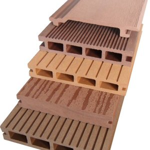 different size to choose   composite decking   outdoor  wpc flooring  / wpc decking board