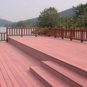 ألوان مختلفة للاختيار الأرضيات انتاجية للماء العام بناء مركب التزيين في الهواء الطلق WPC مجلس التزيين