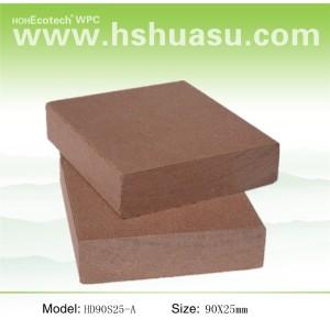 Hot! Exterior solid deck / wpc materials