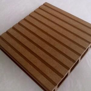 أجوف التزيين انتاجية البلاط تصميم الأرضيات التزيين انتاجية للماء في الهواء الطلق WPC مجلس