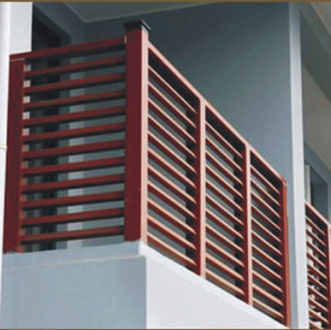 HOT SALL Easy installation  fence-wpc