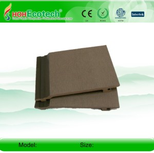 Embossing surface wpc wall panel