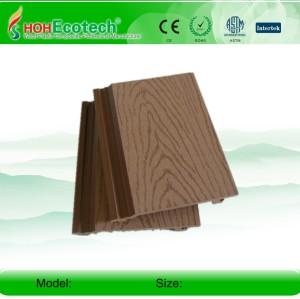 surfaceweatherproof الرملي الخشب البلاستيك لوحة الجدار مركب