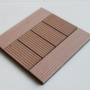 Non-Slip, Wear-Resistant WPC decking tiles